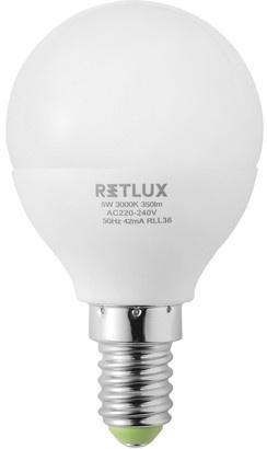 RETLUX RLL 36 LED G45 5W E14