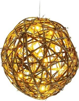 RETLUX RXL 157 koule ratan LED WW