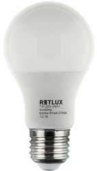RETLUX RLL 244 A60 E27 žárovka 9W WW