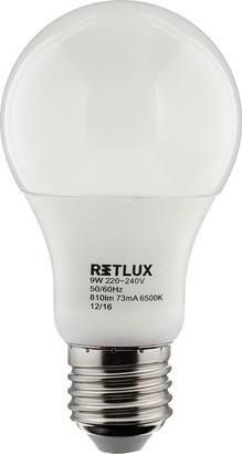 RETLUX RLL 249 A60 E27 žárovka 9W DL
