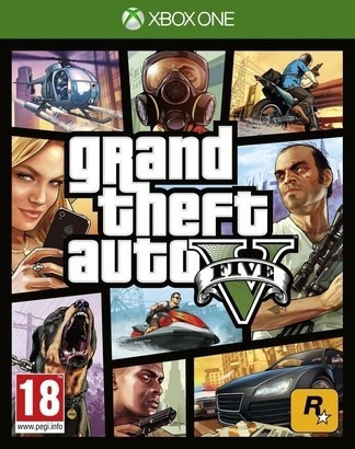 Rockstar Games Grand Theft auto V hra XOne