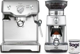 Sage BES810BSS + BCG600 + káva