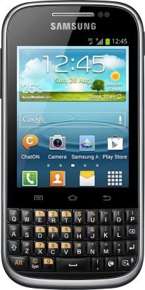 Samsung B5330 Galaxy Ch@t Black
