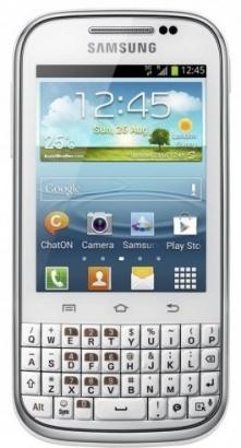 Samsung B5330 Galaxy Ch@t White