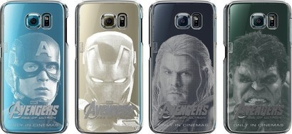 Samsung CLEAR COVER AVENGERS S6
