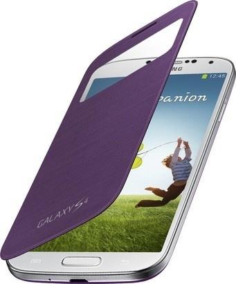 Samsung EF CI950BVEG Flip S4 S-view Purple