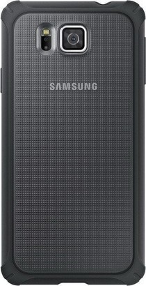 Samsung EF PG850BS Cover Galaxy Alpha Silver