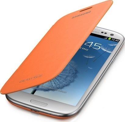 Samsung EFC 1G6FOECSTD Flip S III Orange