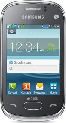 Samsung GT S3802 Rex 70 Duos Silver