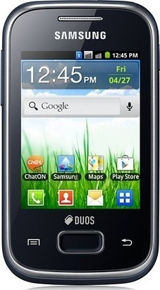 Samsung GT S5302 Galaxy Pocket Duos Black