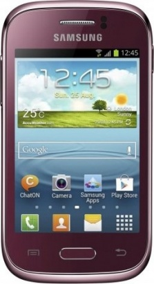 Samsung GT S6310 Galaxy Young Wine Red