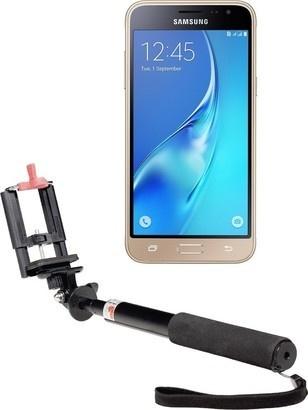 Samsung J3 2016 DS Gold + selfie tyč