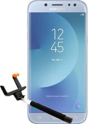Samsung J530 Silver + selfie tyč