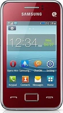 Samsung S5220R Rex 80 Red