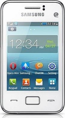 Samsung S5220R Rex 80 White