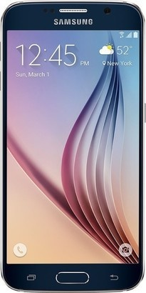 Samsung SM G920 Galaxy S6 128GB Black