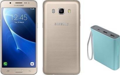 Samsung SM J510 Galaxy Gold + power banka