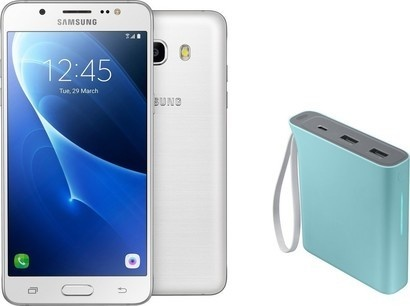 Samsung SM J510 Galaxy White + power banka