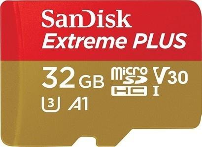 Sandisk 173427 MicroSDHC 32GB 100M Extreme Pro