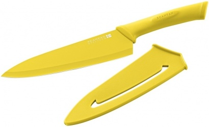 SCANPAN 18cm Kuchyňský nůž žlutý