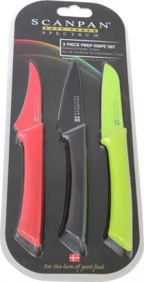 SCANPAN sada 3 nožů barevné