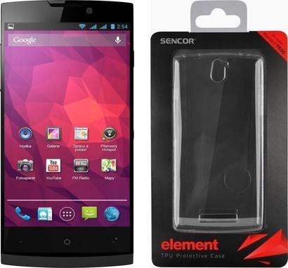 Sencor ELEMENT P500 Black + silicon case