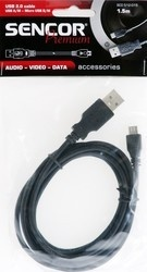 Sencor SCO 512-015 USB A/M-Micro B