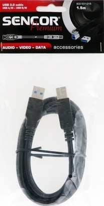 Sencor SCO 531-015 USB3.0 A/M-B/M