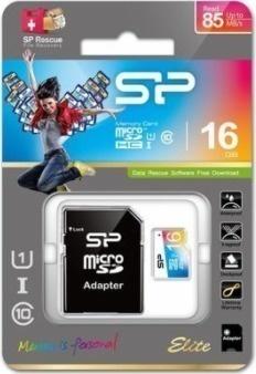 Silicon Power MicroSD,UHS-1,16GB SP016GBSTHBU1V20SP