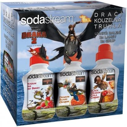 SodaStream Dárkové balení Dračí truhla 6v1