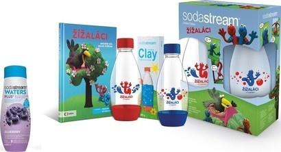 SodaStream Dětská sada Žížaláci + příchuť