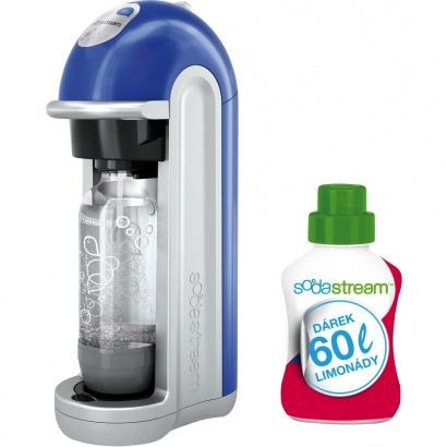 SodaStream FIZZ BLUE BEZ LCD + 60l limo