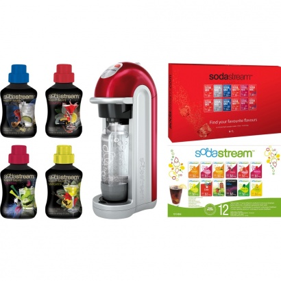 SodaStream FIZZ RED + 60l limo