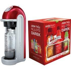 SodaStream FIZZ RED BEZ LCD + dárek 6v1