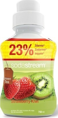 SodaStream Green IceTea Kiwi/Jahoda 750ml