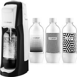 SodaStream JET Black & White + Lahve