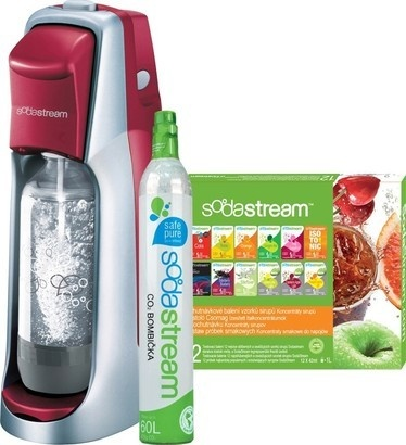 SodaStream Jet Red/Silver + 12 VPP