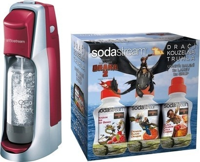 SodaStream Jet Red/Silver LE Dragon