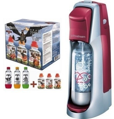 SodaStream JET RED/SLV LE DRAGON 6v1