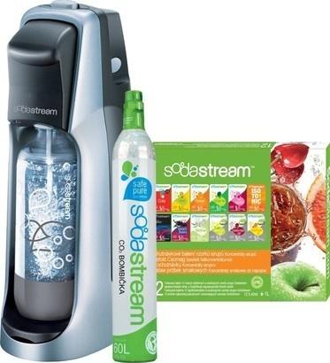 SodaStream Jet Titan/Silver + 12 VPP