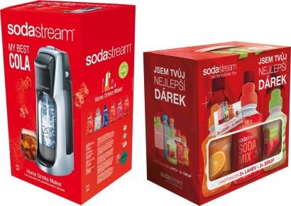SodaStream JET TITAN/SILVER COLA + dárek 6v1