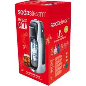 SodaStream JET TTN/SLV COLA + 12PP