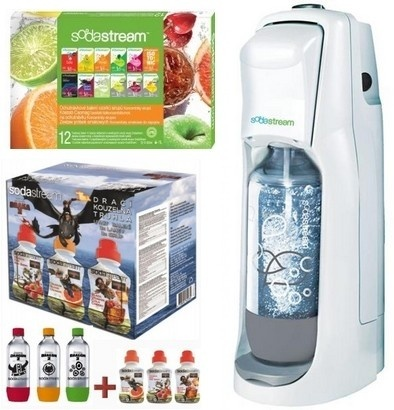 SodaStream JET WHITE 12PP LE DRAGON 6v1
