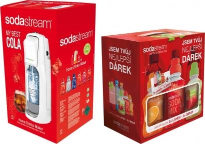 SodaStream JET WHITE COLA + dárek 6v1