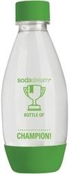 SodaStream Lahev dětská zelená/černá 0,5l