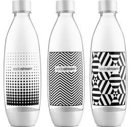 SodaStream Lahev TriPack 1l Fuse Black&White