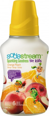 SodaStream Orange Peach Good-Kids 750ml