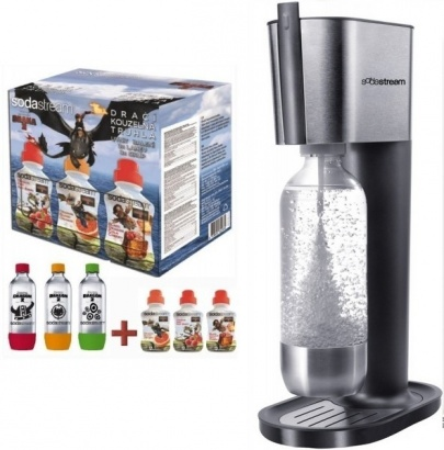 SodaStream PURE GREY LE DRAGON 6v1