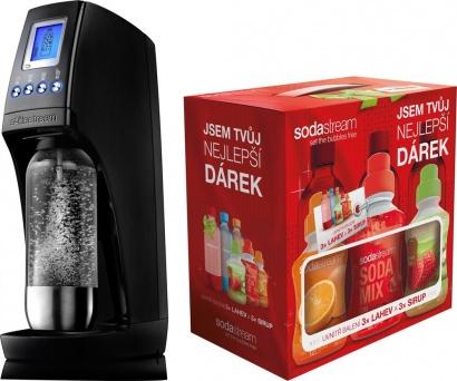 SodaStream REVOLUTION TITAN/SILVER + dárek 6v1