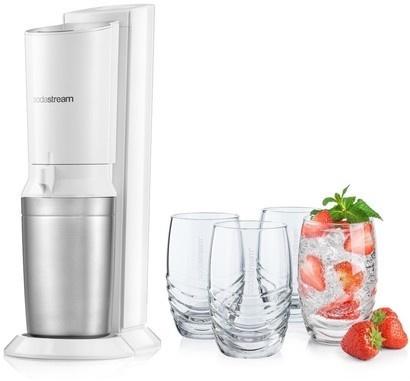 SodaStream sada Crystal + sklenice